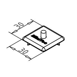 minitec 30x30 endcap diagram