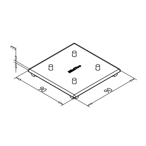 minitec 90x90 diagram