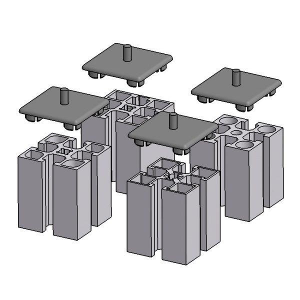 minitec 45x45 endcap examples