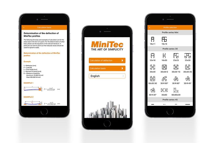 MiniTec Designer App